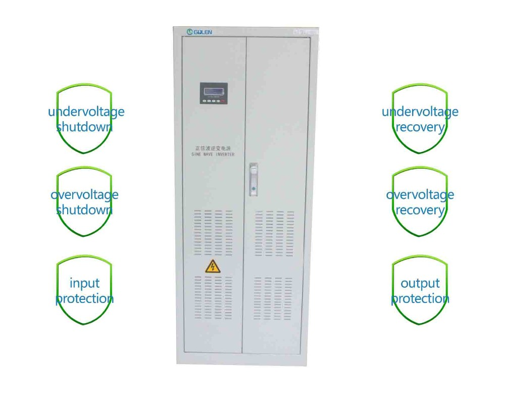 10kW 15kW 20kW 30kW 50kW 100kW 150kW 200kW Low Frequency Sine Wave Off Grid Inverter With IP65