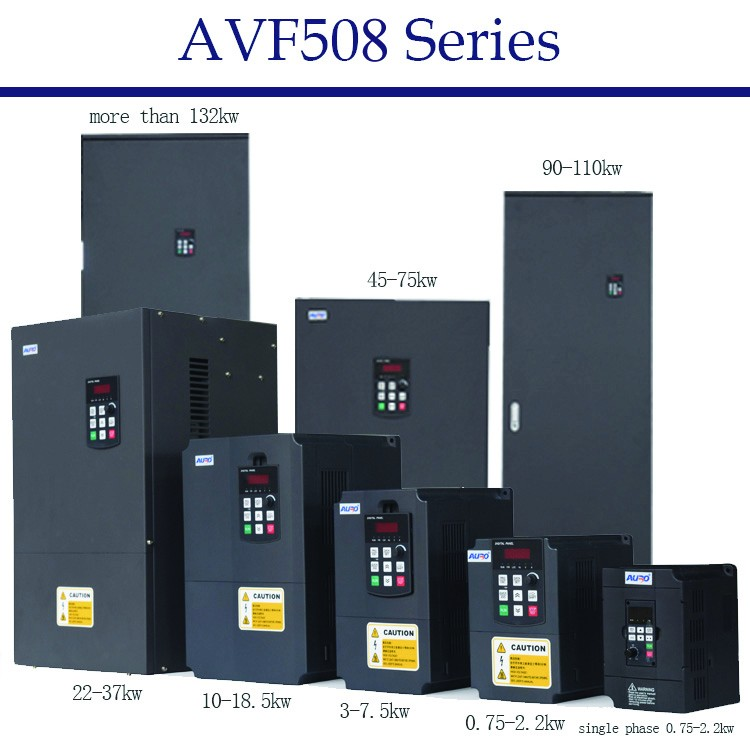 Top 10 Brand 3.7 kw to 7.5 kw VSD Low Voltage motor VFD 3 phase AC Input and output Drive